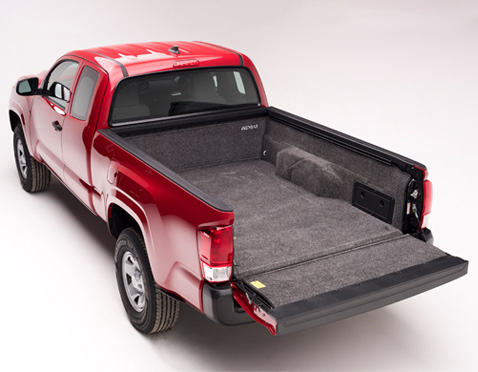 accessories bedliner with sierra lel decker ltd brooks bed truck out collision liner frame