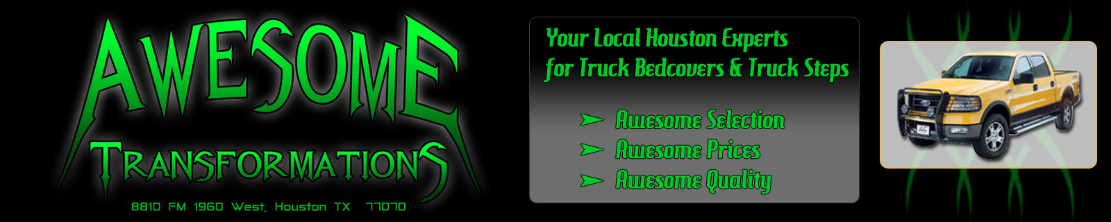 Houston's Truck Accessories Leader-Banner